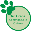 3rd Grade Common Core quizzes