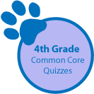 4th grade Common Core quizzes